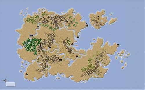 mapa fantasia